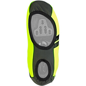 Castelli Narcisista 2 Shoecover yellow fluo/black